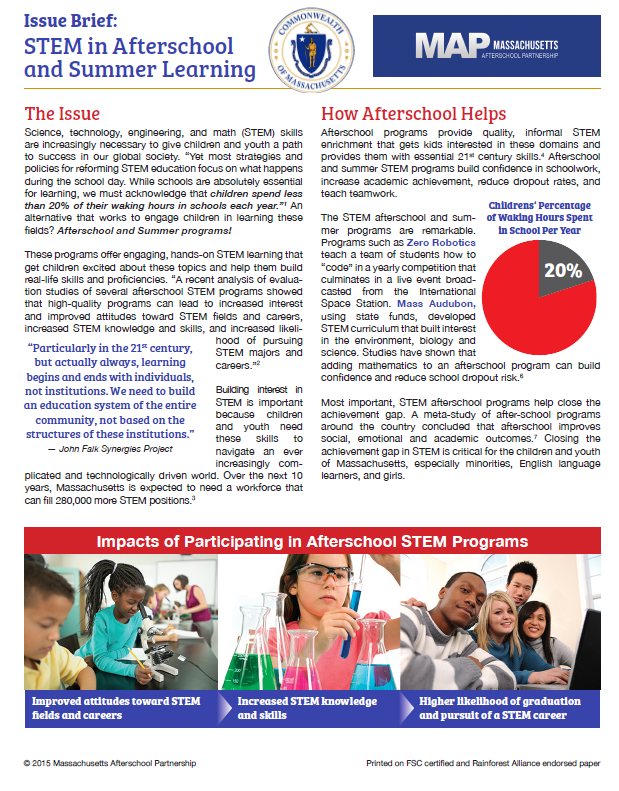 STEM Issue Brief 2015 -
