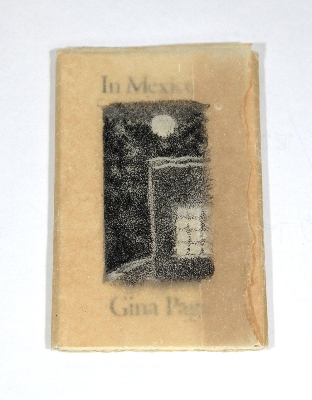 Gina Page, In Mexico, Chine colle aquatints, stenciled art, 2011, $125, Richmond, British Columbia, Canada