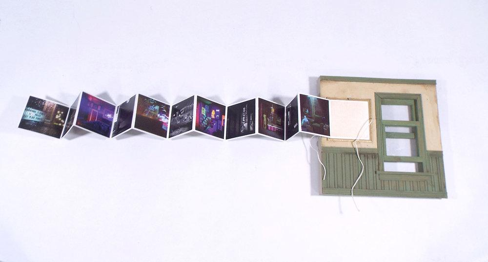 Robert Matejcek, Built Environments, Mixed; Foam Board, Adhesive, Craft Foam, Acrylic Paint, Joint Compound, Cardboard, Balsa, Laserprint, Paper, Plastic, Dowel, String, 2018, $125, Boise, ID
