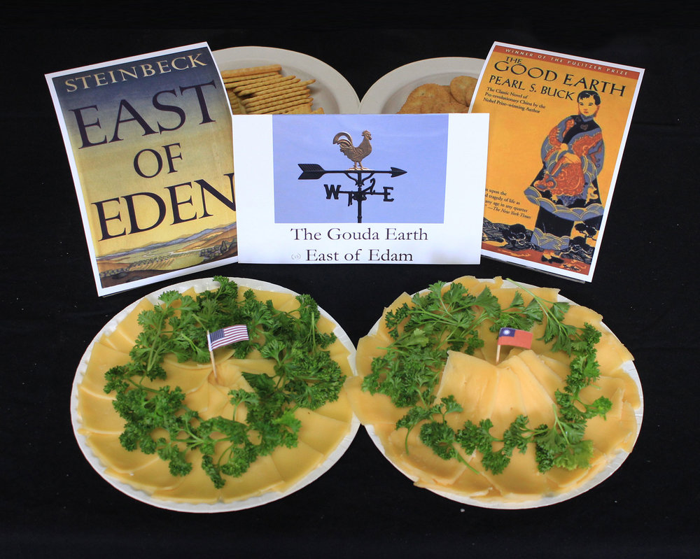 "Kieth Jones, ""The Gouda Earth"" and ""East of Edam"""