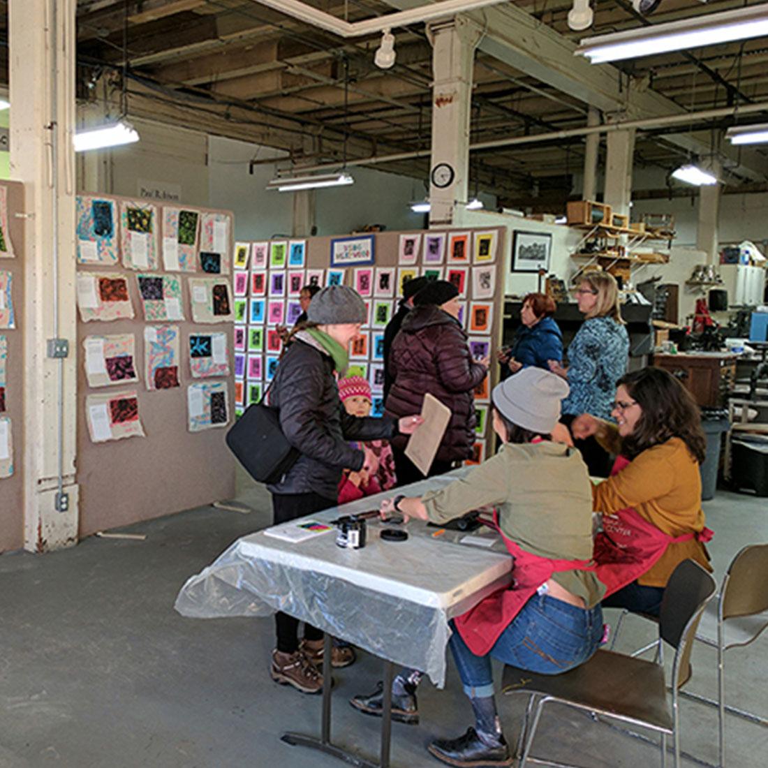 February 2018: Kids Print Extravaganza