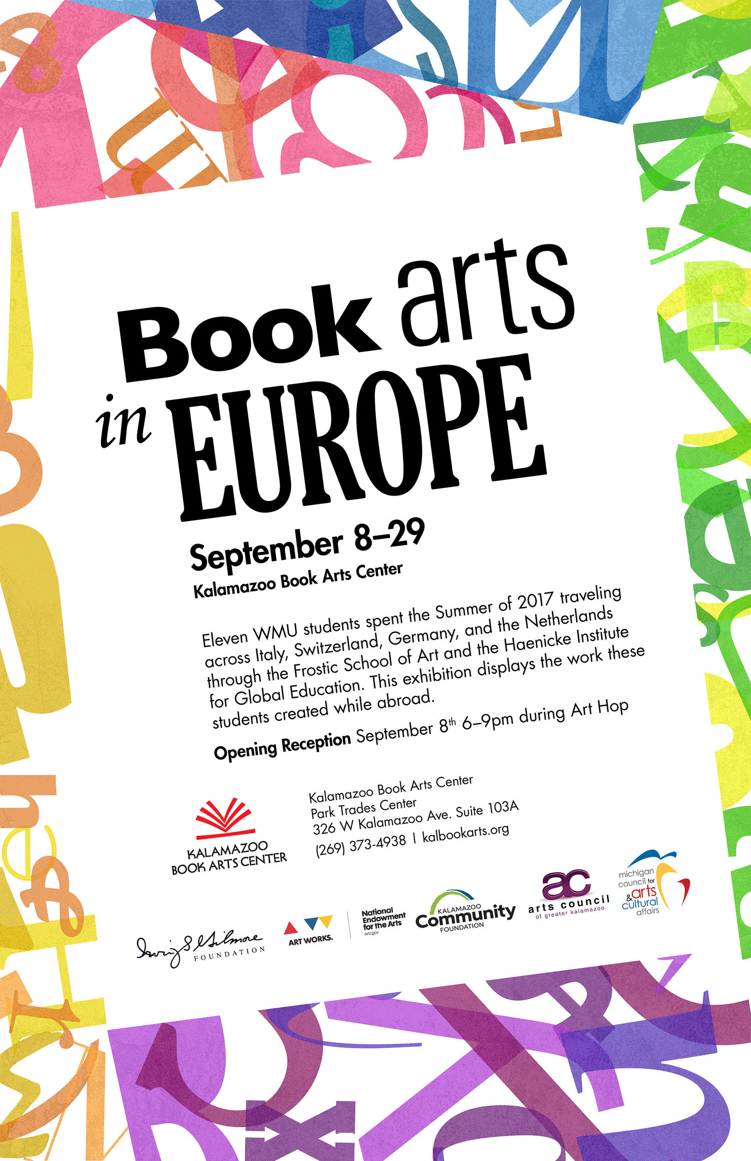 September 2017: Book Arts In Europe