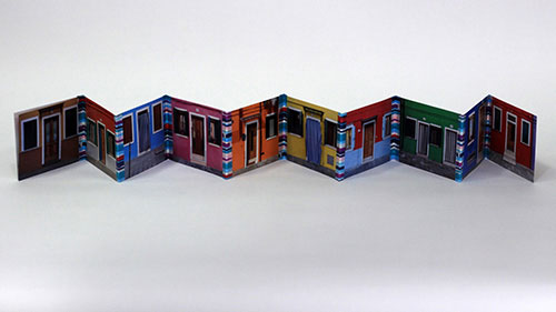 Artist: Dotti Chichon Title: The Houses of Burano Media: Photography, Washi Tape Date: 2011-2017 Price: $25 Location: Mountain View, CA