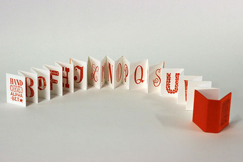 Artist: Lauren Emeritz Title: Hand-Carved Alphabet Miniature Media: Letterpress on paer Date: 2017 Price: $100 Location: Washington, DC