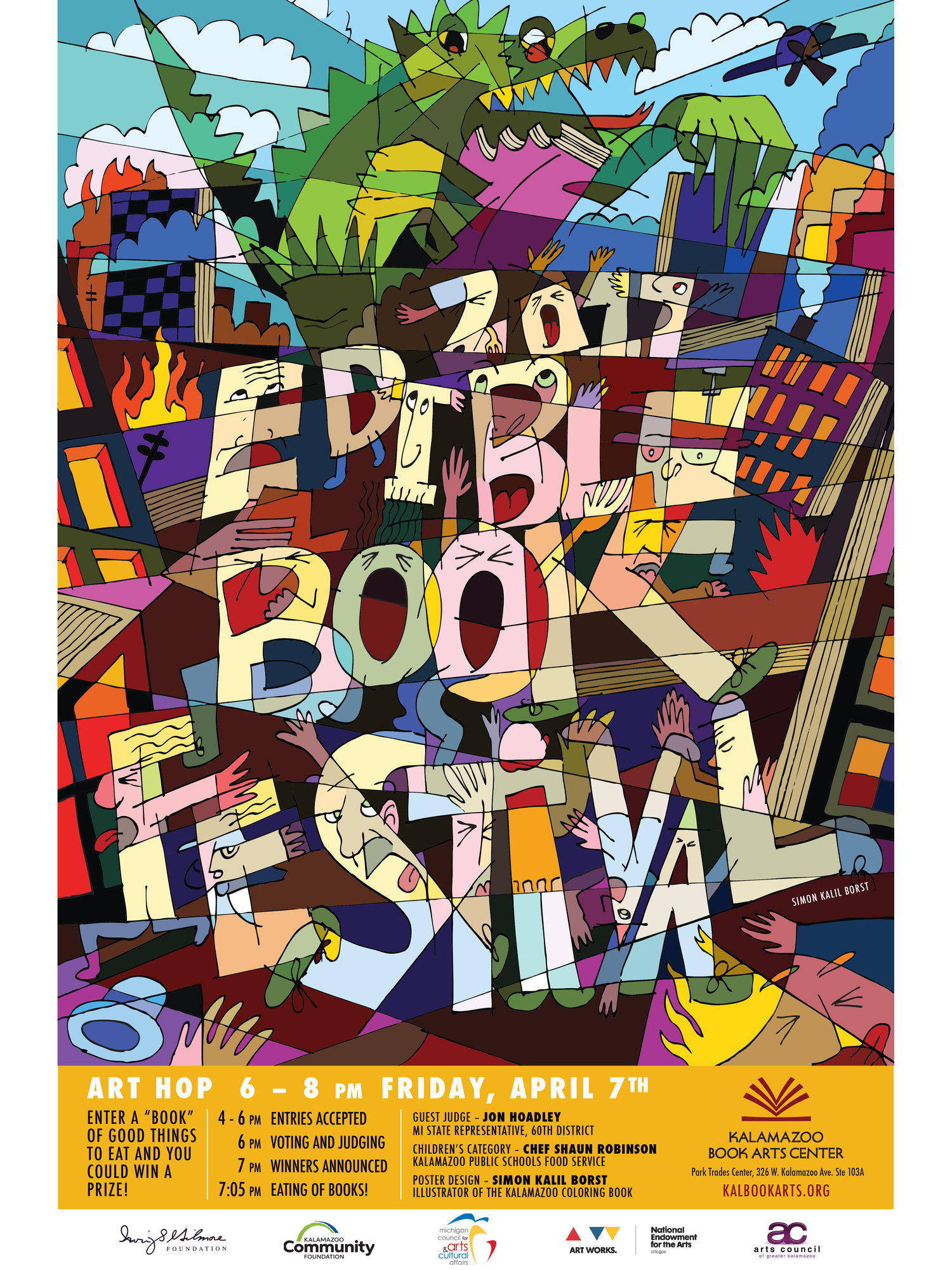 April 2017: Edible Book Festival!