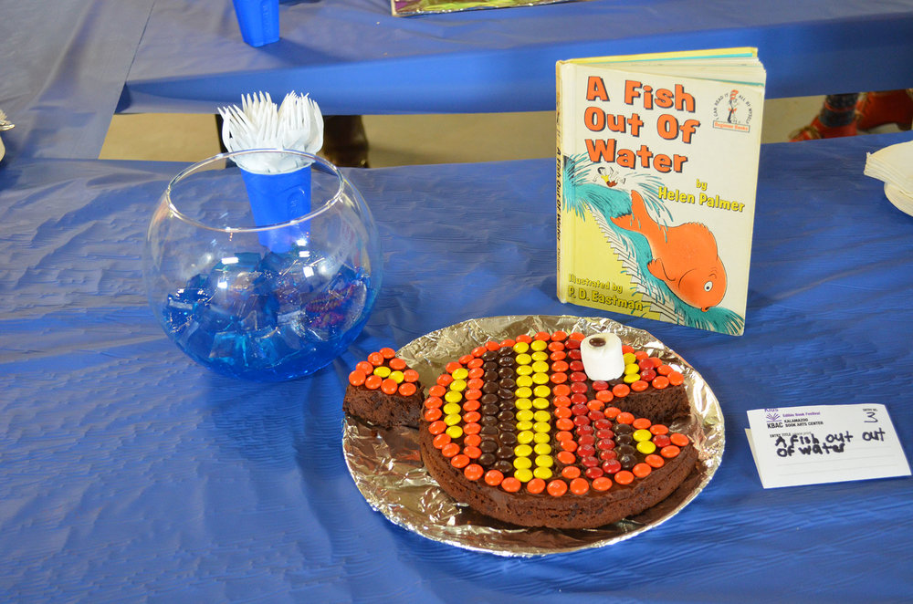 """A Fish Out Of Water"" by Dylan Piwko; 2016 Edible Book Festival"
