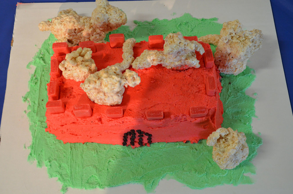 """Redwall"" by Foster Neve-Jones; 2016 Edible Book"