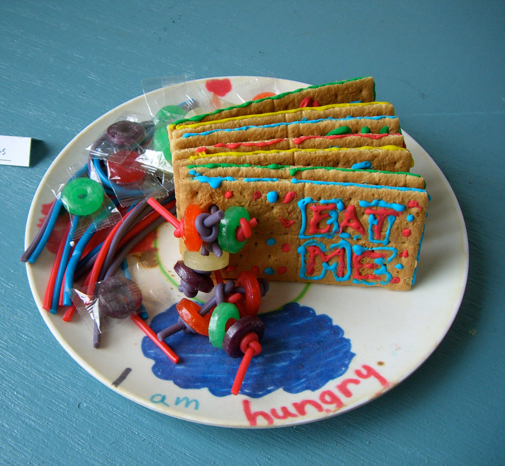 """Booklet for Nicholas"" by Joan Bonnette; 2006 Edible Book Festival entry"
