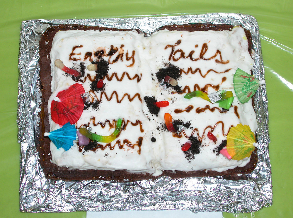 """""""Earthy Tales"""" by Dona Yates; 2007 Edible Book Festivall entry"""