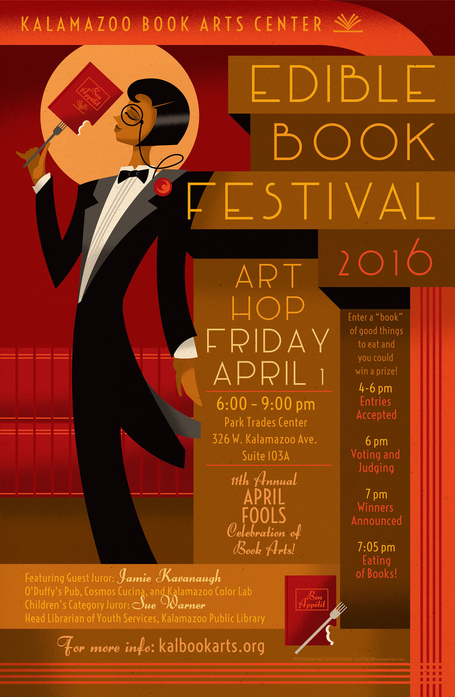 April 2016: Edible Book Festival