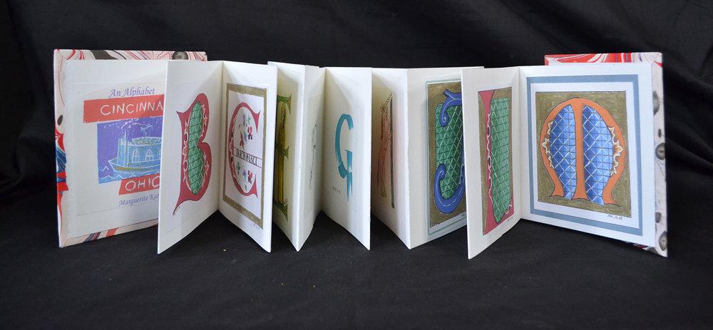 Marguerite Katchen, Alphabet, Acrylic Marling, Inkjet Prints, 2015