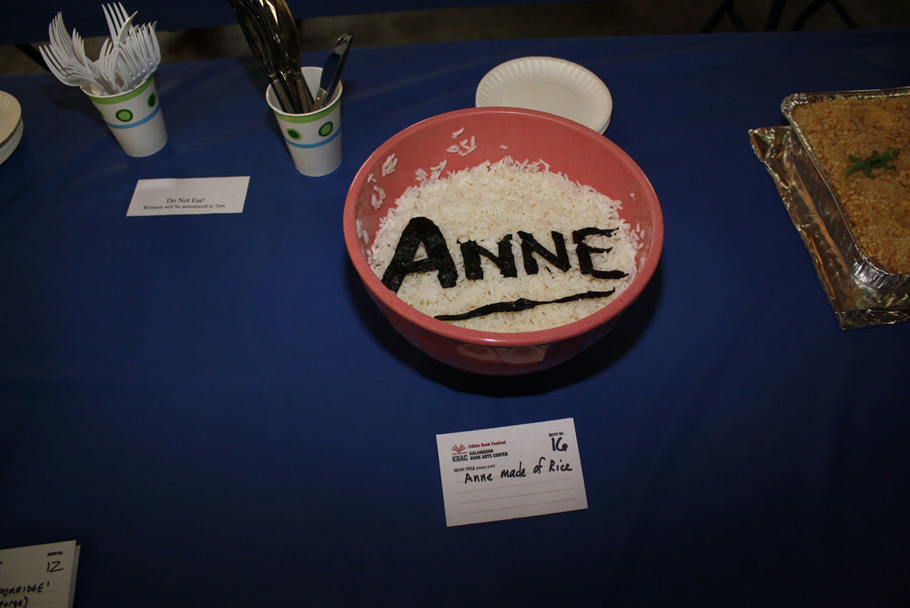 Anne made of Rice, by Megan Schultz