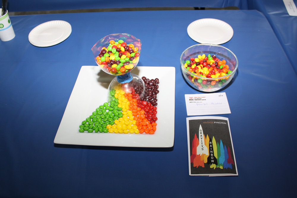 Gravity's Rainbow, by Katie Platte