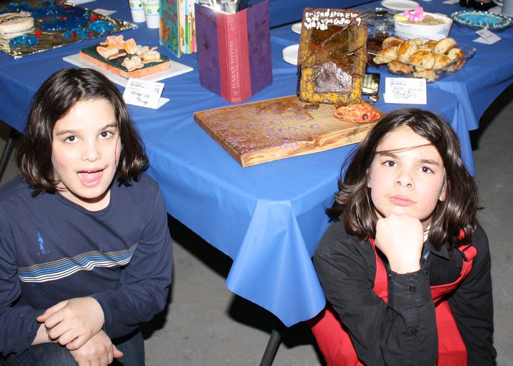"""Maddox, Cho and Jaxson Irons won the People's Choice Award with their entry """"Harry Potter and the Sorcerer's Scone."""""""