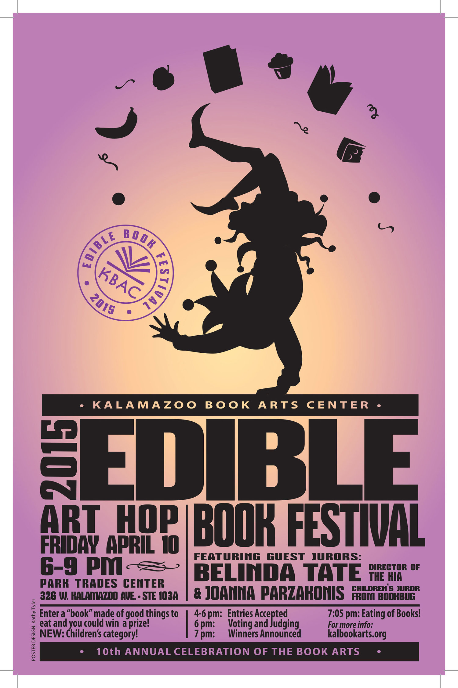 April 2015: Edible Book Festival