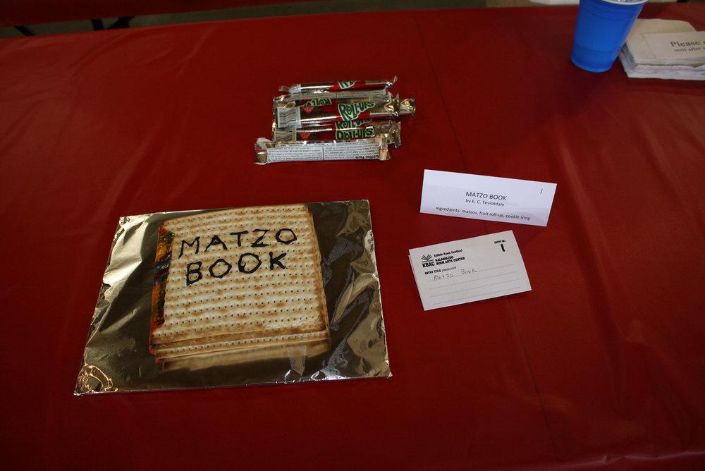 Matzo Book by Elizabeth Teviotdale