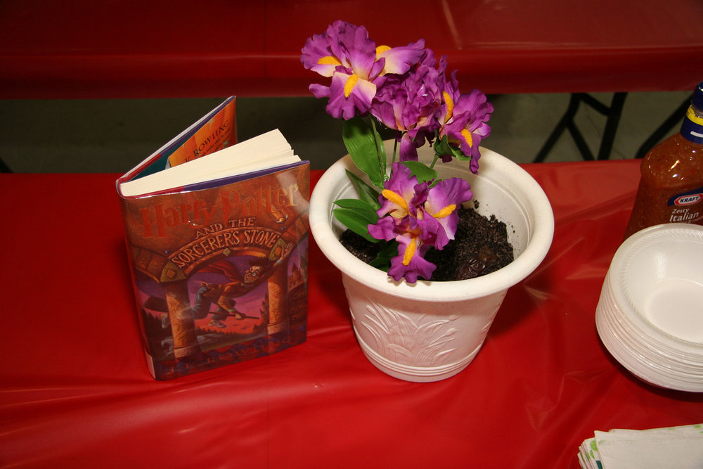 """""""Dairy (Free) Potter and the Sorcerer's Stone"""" created by Kory M. Shrum; 2011 KBAC Edible Book entry"""