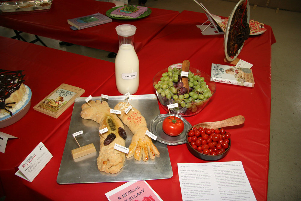 """""""A Medical Miscellany for Genealogists"""" created by Sarah Keller; 2011 KBAC Edible Book entry"""