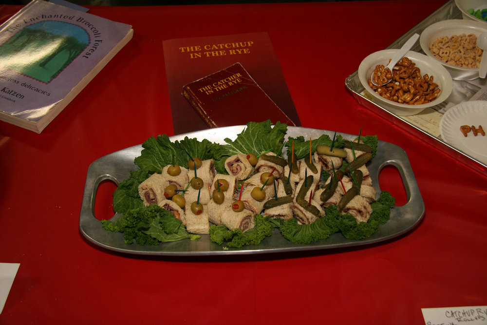 """""""The Catchup in the Rye"""" created by Sue Parker Carter (with Tona Carter and Carl Smith); 2011 KBAC Edible Book entry"""