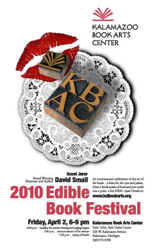 2010 Edible Book poster by Keith Jones