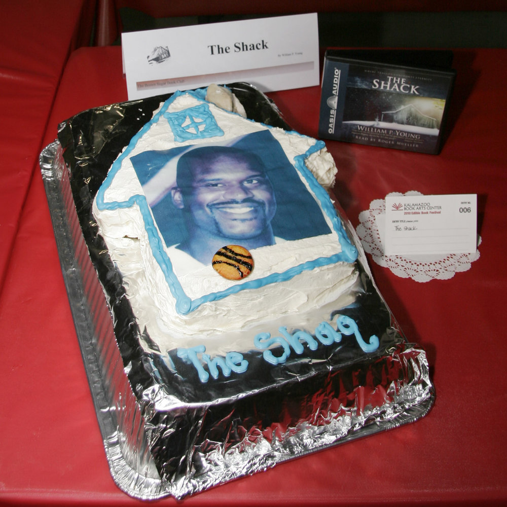 """The Shaq"" created by Brown Sugar Book Club, 2010 KBAC Edible Book Festival"