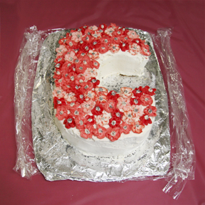 """""""Sea of Poppies"""" by Mary Platte; 2009 Edible Book Festival entry"""
