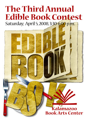 2008 Edible Book poster by Keith Jones