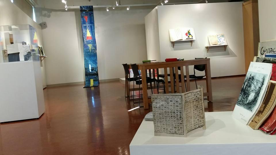 Installation view at Kean University
