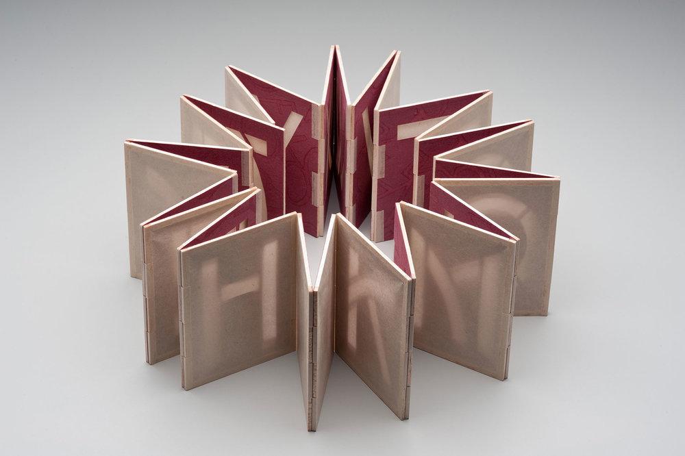 Helen Hiebert, Alpha Beta, Handmade Book