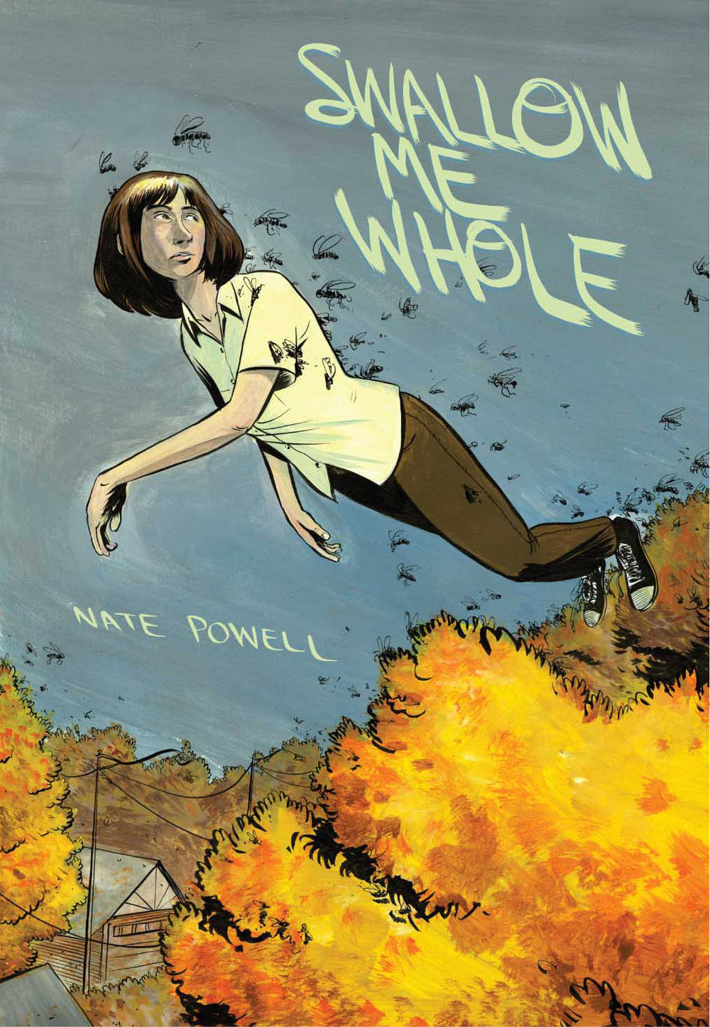 "Nate Powell, cover for ""Swallow Me Whole"""