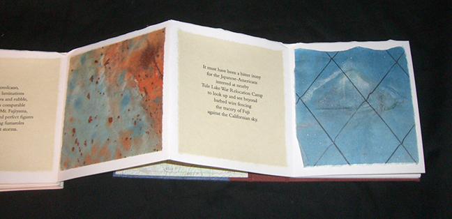 Mary Heebner, Western Trilogy Mountan, Canyon, Dune