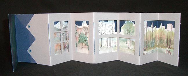 ElizabethSimmonds, Winter Trees
