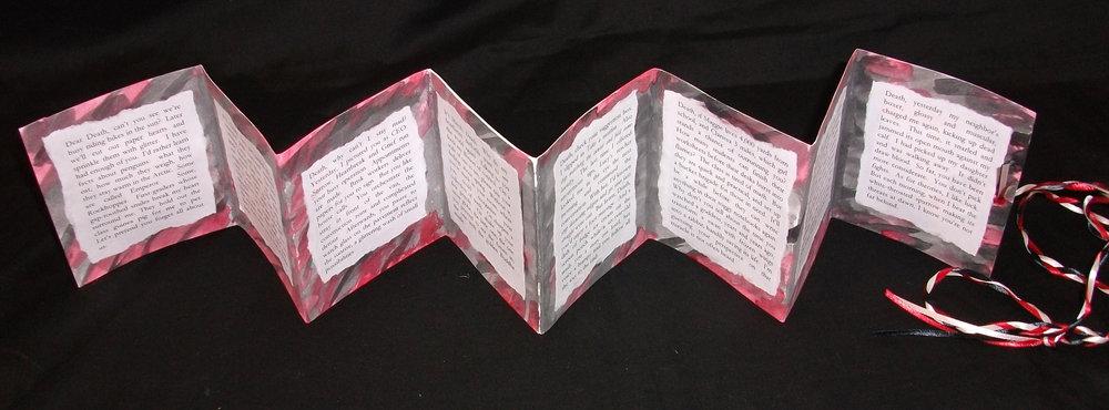 Kathleen McGookey,  Eight Letters,  Paper, 2012, Middleville, MI