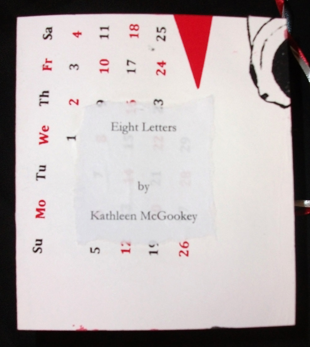 KathleenMcGookey,  Eight Letters,  Paper, 2012, Middleville, MI