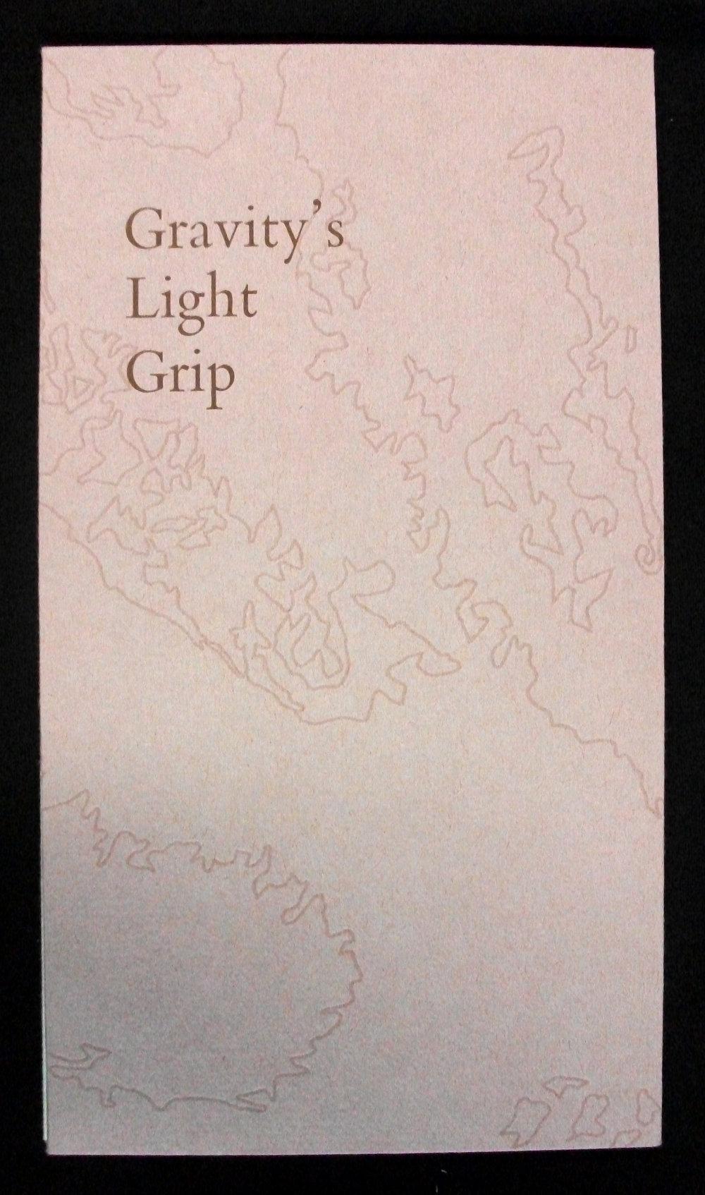 AmyPirkle,  Gravity's Light Grip,  Letterpress and Reduction Linocut, 2007, Tuscaloosa, AL