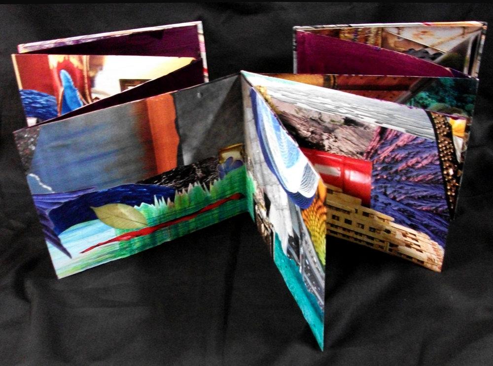 Ren Vasiliev,  Rippling,  Collage, 2012, Bloomgield, NY