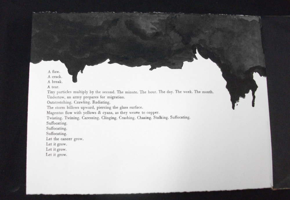 Borgne, Bethany C Rahn, Letterpress, Ink, Wisconsin, 2011