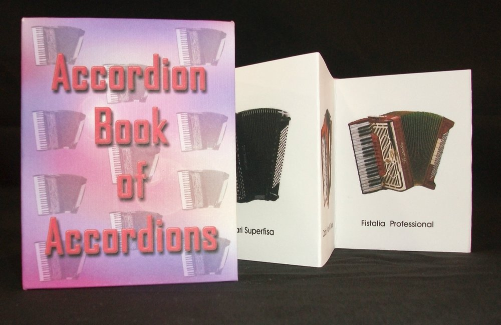 The Accordion Book of Accordions, Rich Troncone, Paper, board, inkjet printing, California, 2010