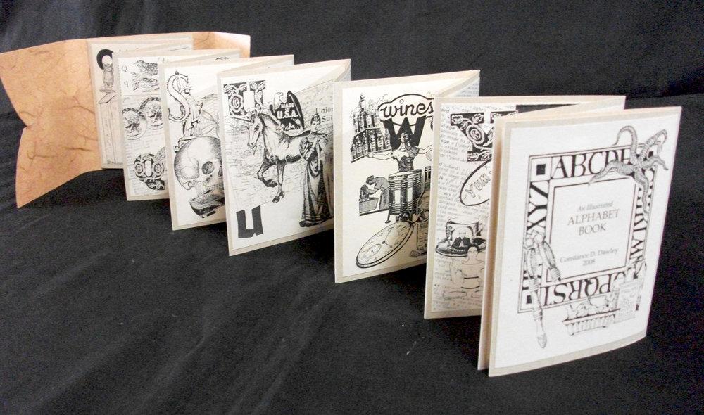 Constance Dawley, An Illustrated Alphabet Book, Xerox 2008