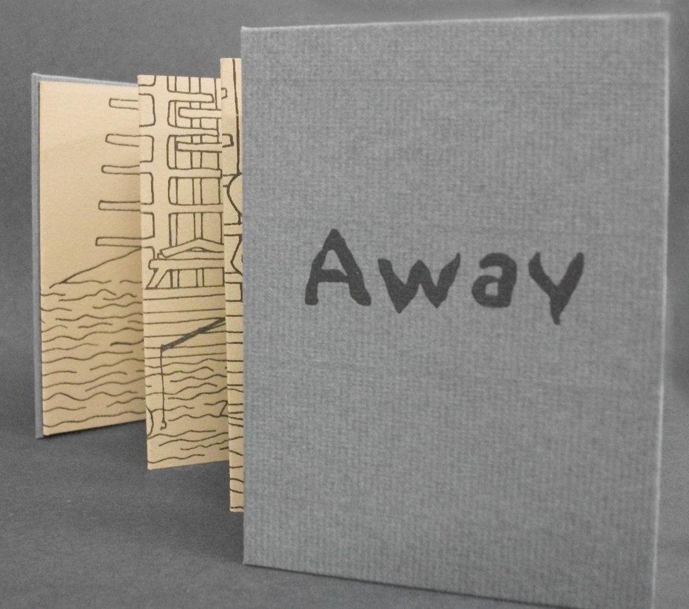 Emily Martin, Away, Letterpress 2001