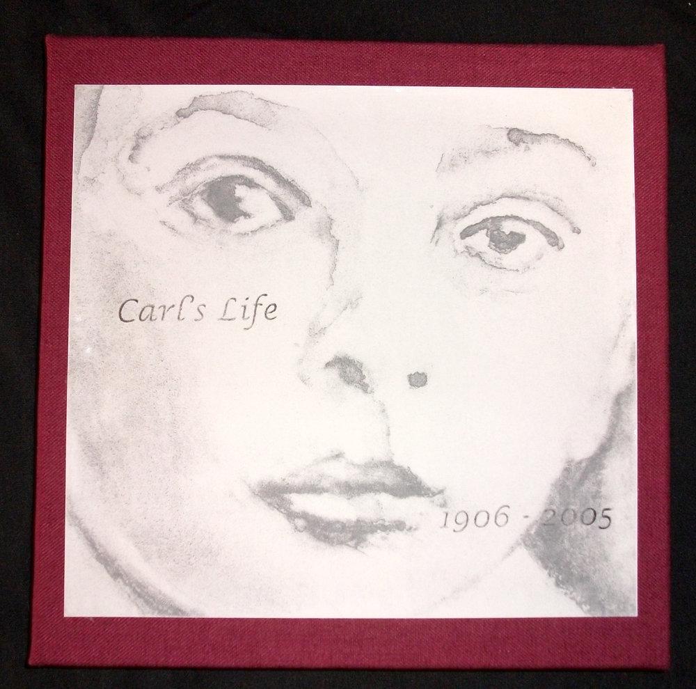 Judy Bergman Hochberg, Carl's Life 1906-2005, Polymer Plate Intaglio, 2006