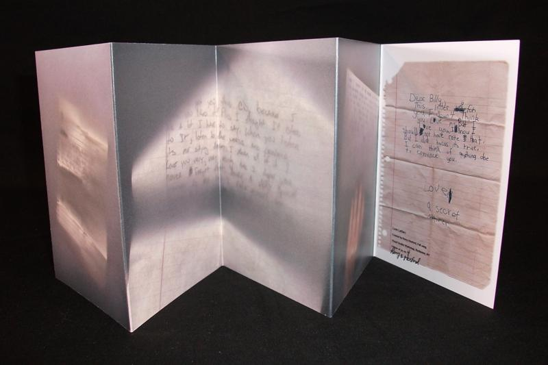 Romy Hosford, Love Letters, Commercially Printed, 2009