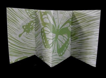 Valerie Carrigan, The Wind, Linoleum cut, Letterpress Printed, 2010