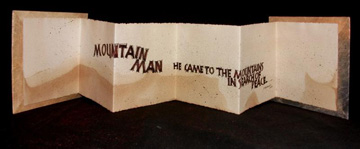 Jill Reinhold Jarom, Mountain Man, Mixed Media, 2005