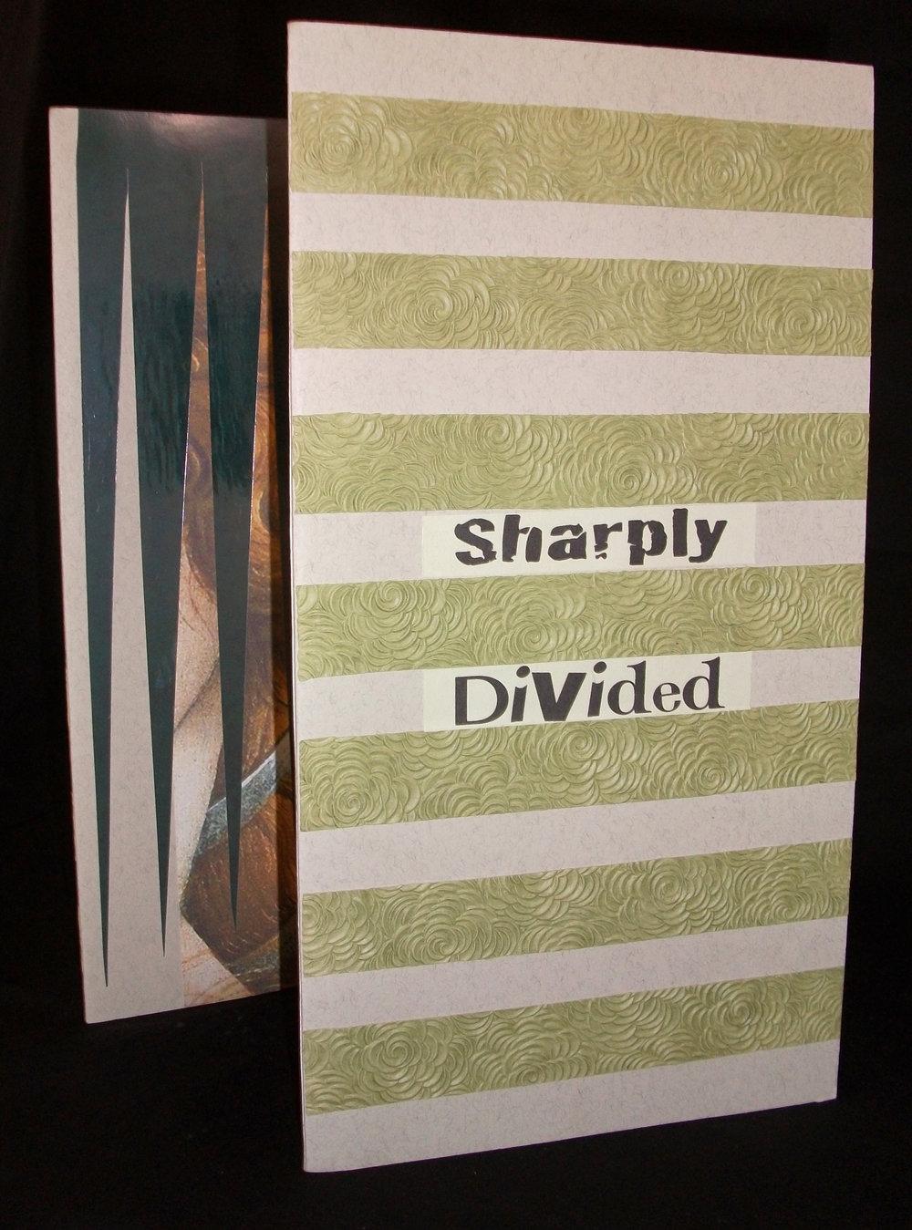 "Sharon Covington ""Sharply Divided,"" Collage, 2014, Arlington, TX"