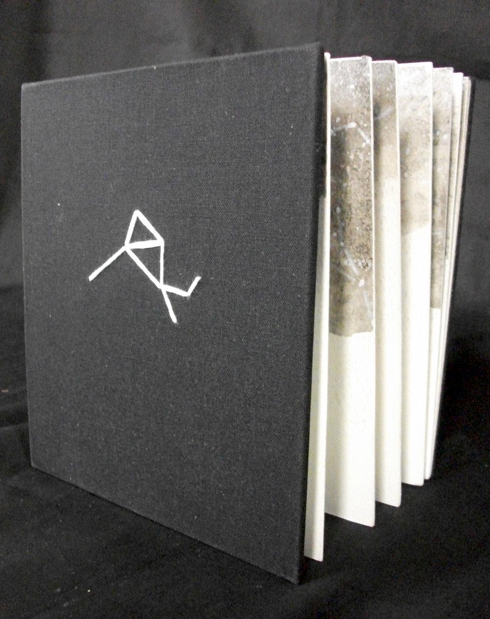 """Katheryne Flake, """"Snow,"""" Mixed Media: Ink Graphite, Acrylic, 2014, Athens, GA"""