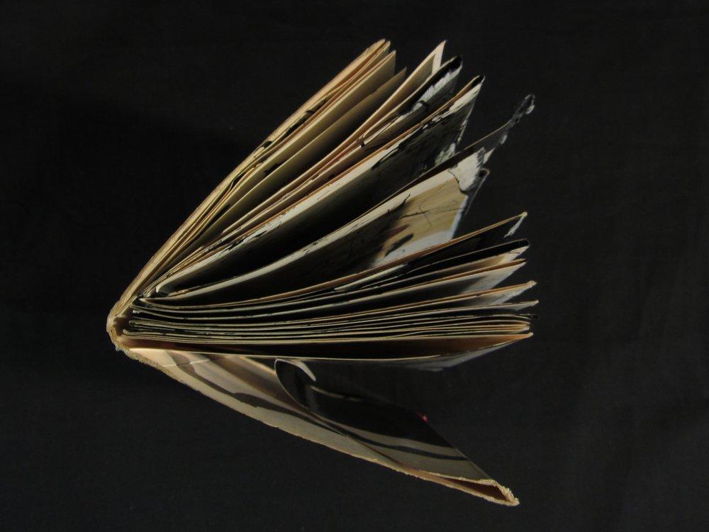"""Robyn Ellenbogen, """"Re-purpose -- Flowers,"""" Sumei Ink, 2012, Shrewsbury NJ"""