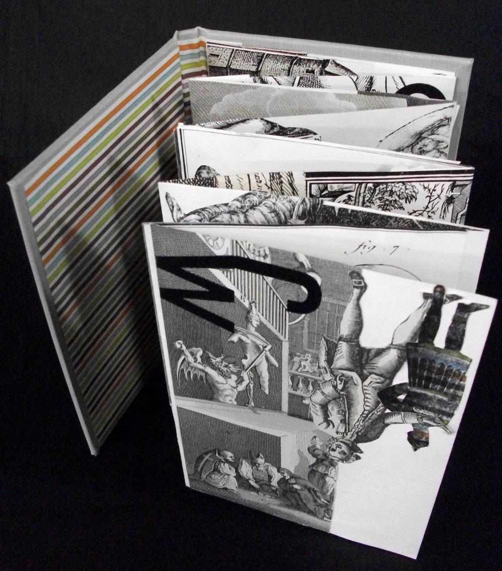 "Katie Platte, ""Age of Reason,"" Collage, vinyl letters, 2012, Kalamazoo, MI"