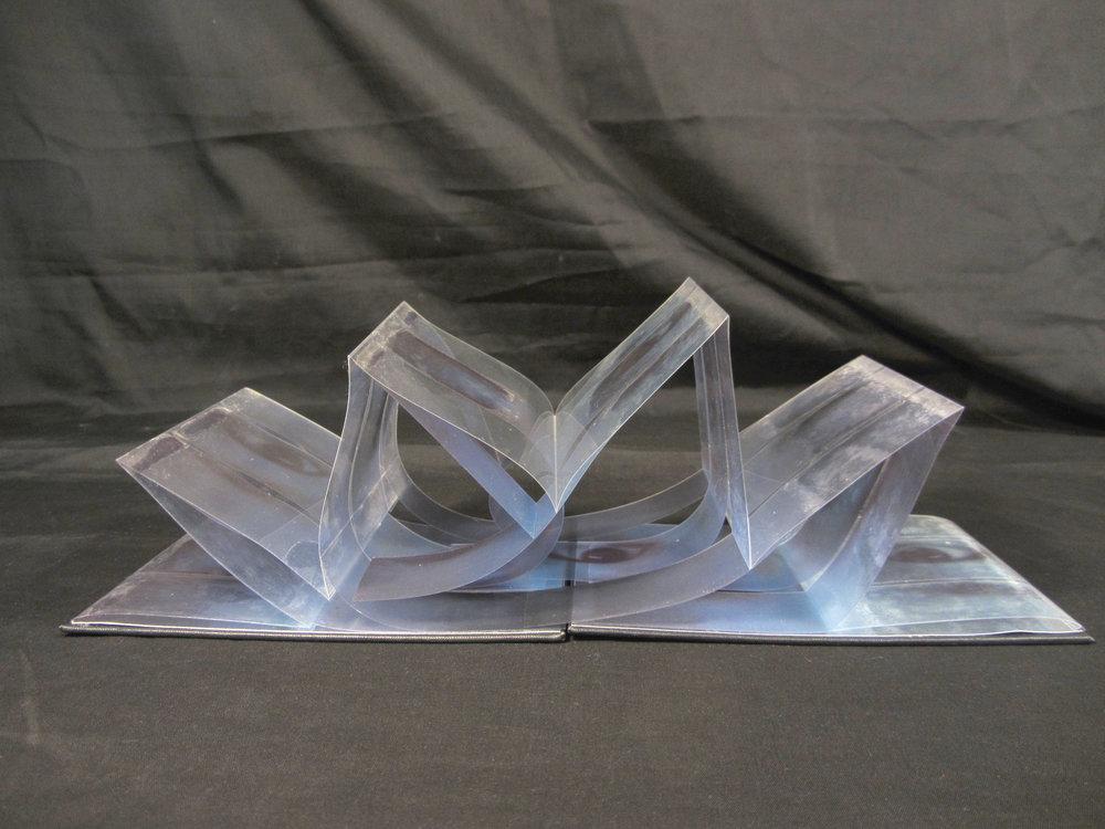 Yoonshin Park, Blink, Inkjet on acetate, bookboards etc, 2003, NFS, Honolulu, HI