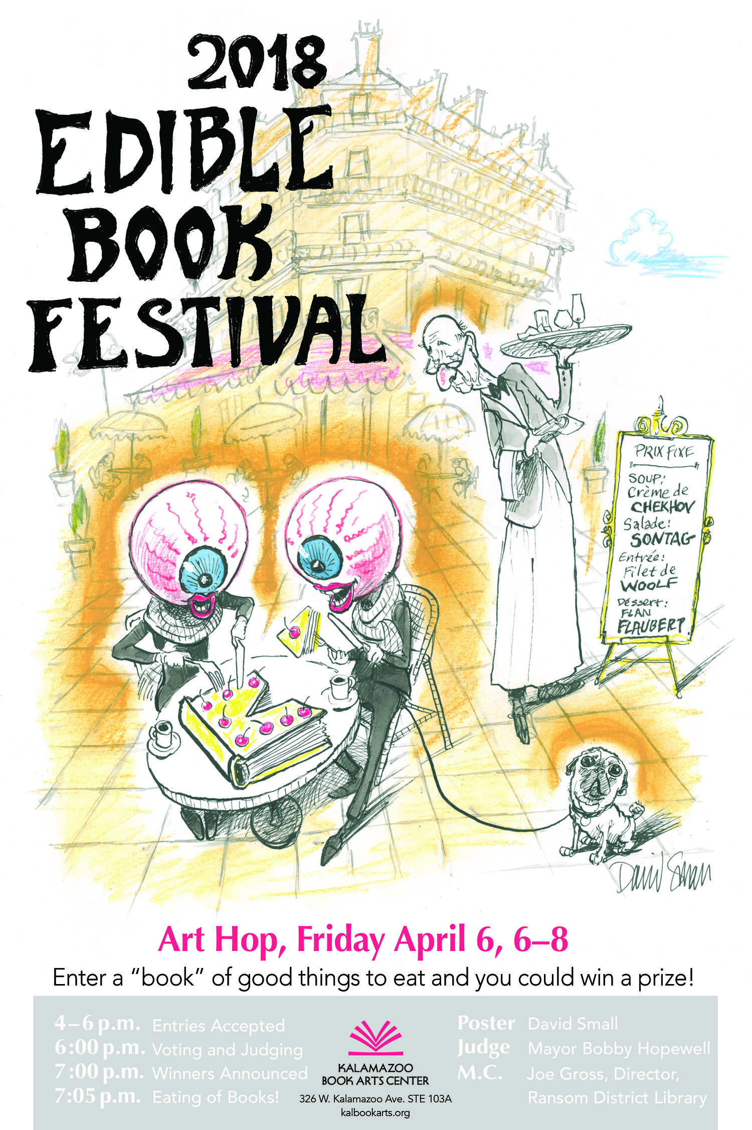 April 2018: Edible Book Festival